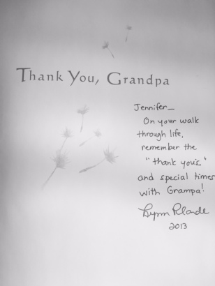 Thank You, Grandpa